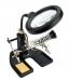 Carson CP-50 Soldeerstation met Loep en Verlichting