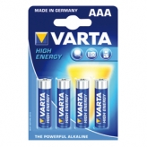 Varta High Energy Batterijen AAA 4 Stuks